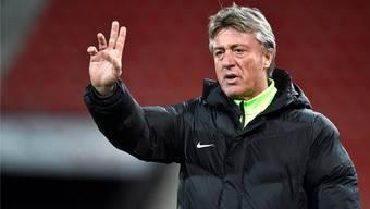 Mit drei Punkten gegen Le Mont will FCA-Trainer Marco Schällibaum heute den Rückstand auf die Nichtabstiegsplätze möglichst klein halten.