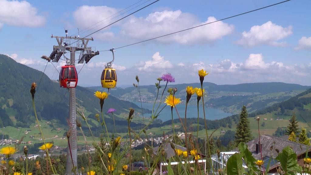 Sommertourismus in den Alpen nimmt zu