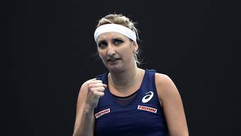 Timea Bacsinszky kämpft sich in Indian Wells in die Achtelfinals