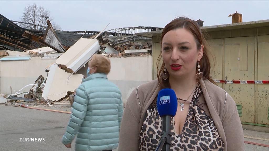 Grossbrand in Hinwil: Flammen zerstören Lebenswerk von mehreren Gewerblern