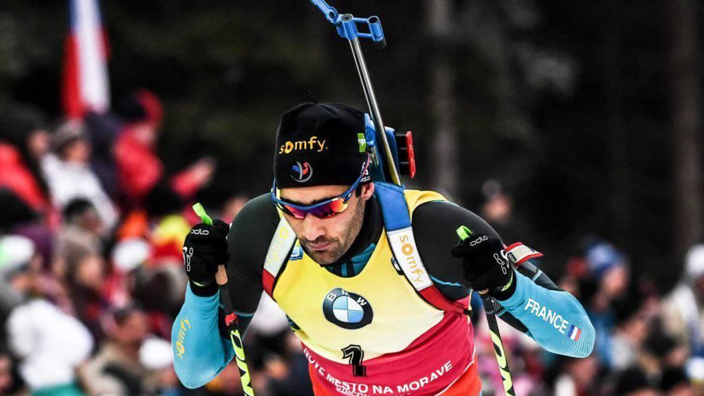 Martin Fourcade ist die Nummer 1 der Biathleten