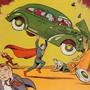 Supermans erster Auftritt im Juni 1938 im Heft Action Comics #1 (Archivbild)