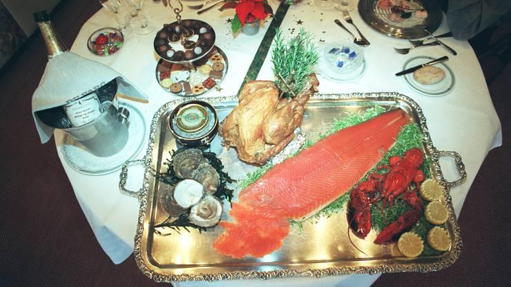 Es muss nicht immer das volle Programm wie auf diesem Bild sein, doch die Grenchner Wirte bieten an Silvester besondere Menus an.