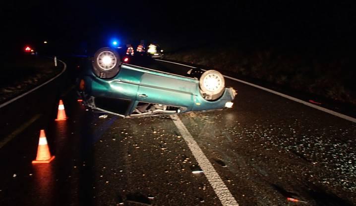 Der Autofahrer in Densbüren blieb unverletzt.