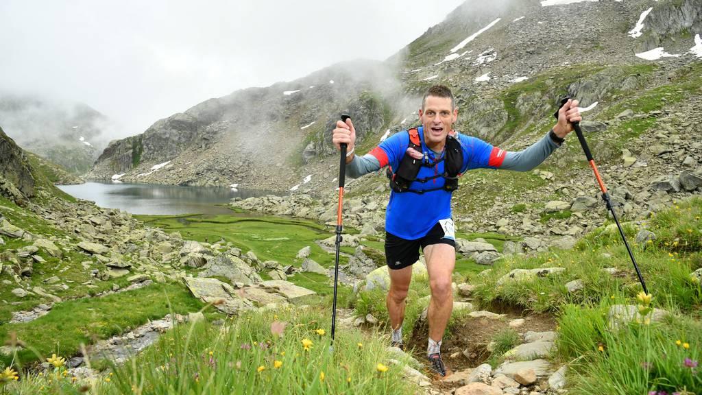 Trotz Corona und Verletzung: Flumser schafft 42 Marathons