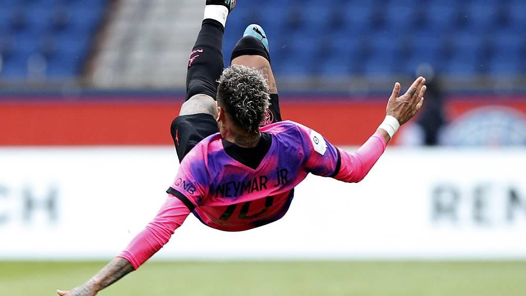 Neymar turnt und trifft in der Liga.
