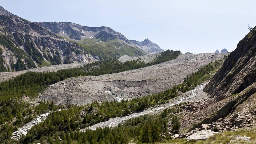 Mont-Blanc-Gletscher droht einzustürzen