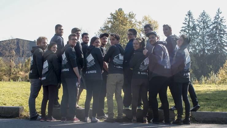 Organisationskomitee vom Kapfila am Planungsweekend im Oktober 2017