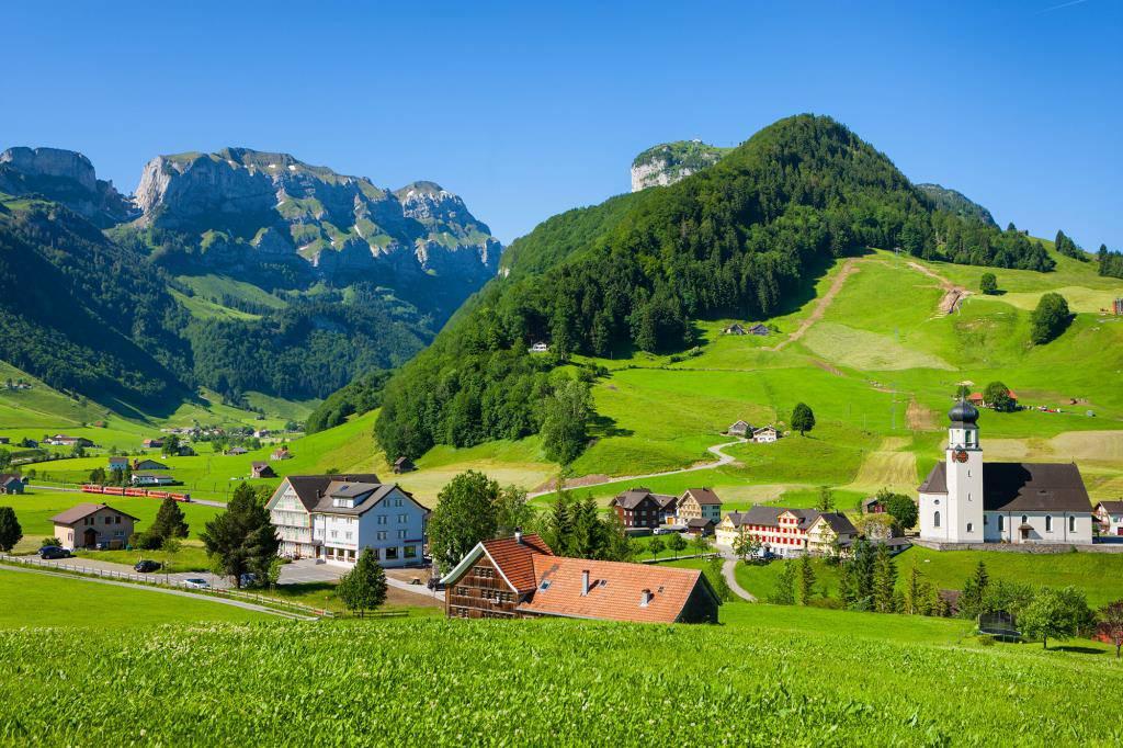 Schwende in Appenzell Innerrhoden ist in der Ostschweiz auf Platz zwei, schweizweit jedoch auf Rang 151. (© Tagblatt)
