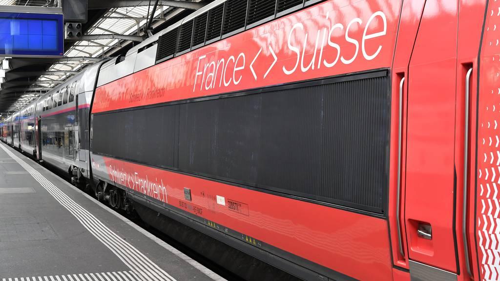 SBB reduzieren Verbindungen nach Frankreich und Italien