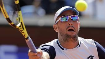 Hat sich in Belgrad mit dem Coronavirus infiziert: der serbische Tennisprofi Viktor Troicki