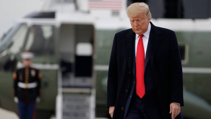 Fühlt sich unfair behandelt: US-Präsident Donald Trump. (Bild: Keystone)