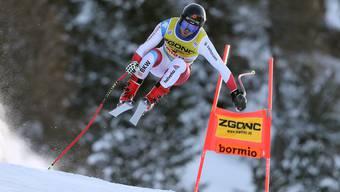 Mauro Caviezel verletzt sich im Training von Garmisch-Partenkirchen offenbar schwer.