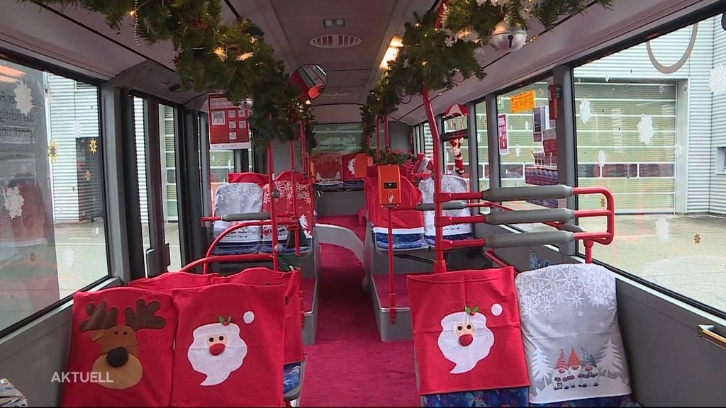 In Olten verkehrt ein spezieller Weihnachtsbus