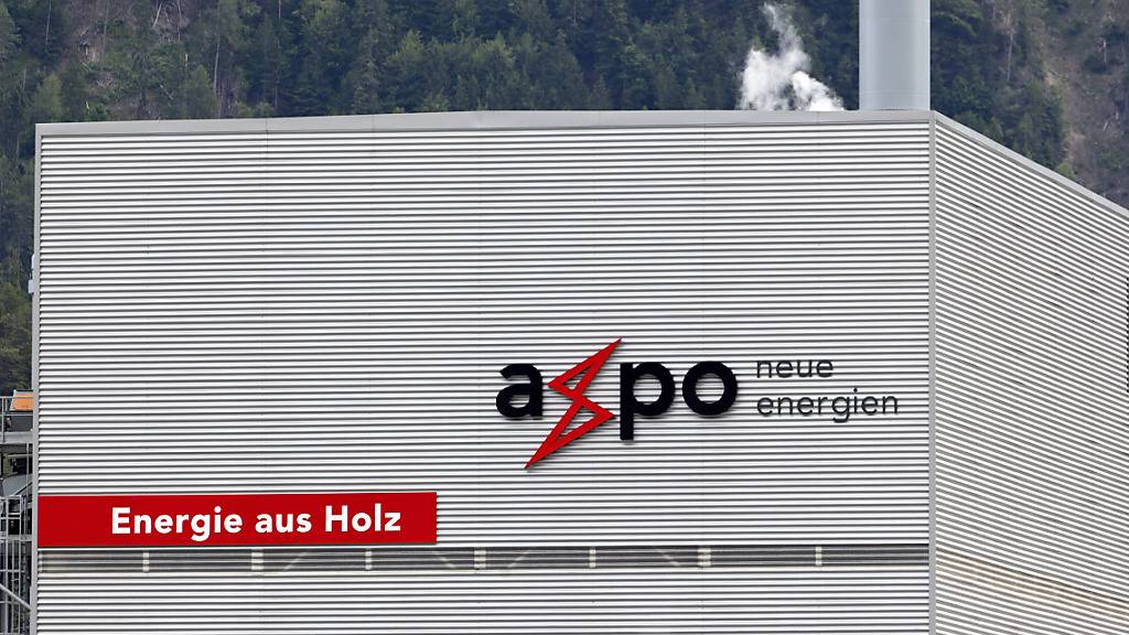 Wo genau der Brand bei der Axpo in Domat/Ems GR ausgebrochen ist, war am Donnerstagabend noch unklar. (Archivbild)