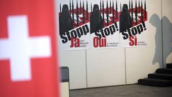 Im Jahr 2009 sagte die Schweizer Bevölkerung Ja zum Minarettverbot.