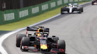 Red-Bull-Fahrer Max Verstappen gewinnt in São Paulo erstmals den Grand Prix von Brasilien