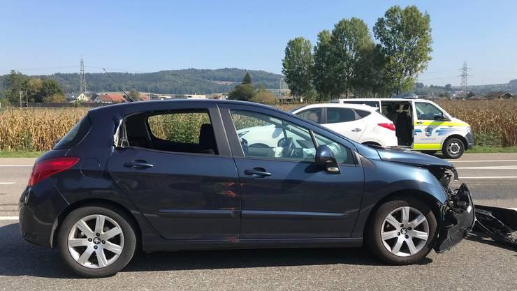 Eine alkoholisierte Autofahrerin (51) hat am Donnerstagmittag in Hendschiken einen Selbstunfall verursacht.