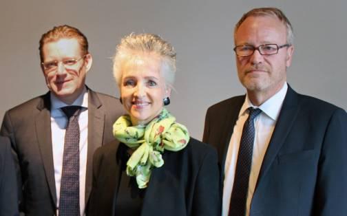 Josef Wiederkehr, Carmen Walker Späh und Hans Egloff