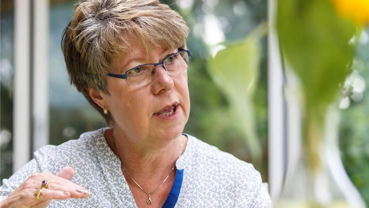 Über zehn Jahre hat Isabelle Dreier ihren Mann zu Hause betreut. Hp. Bärtschi