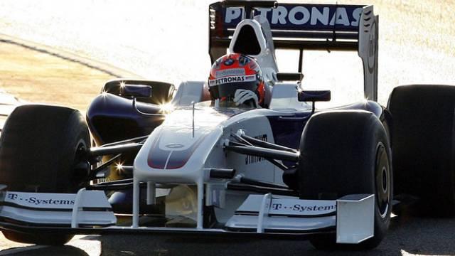 Robert Kubica im BMW-Sauber F1.09