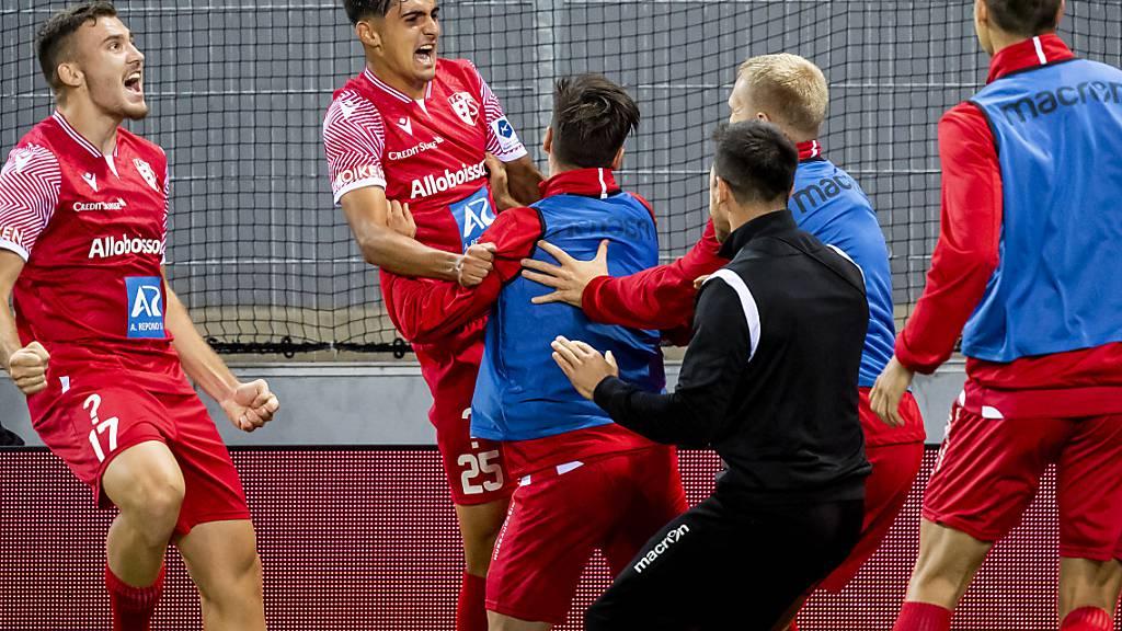 Der FC Sion darf dank Théo Berdayes gegen Angstgegner Lugano endlich wieder einmal im eigenen Stadion jubeln