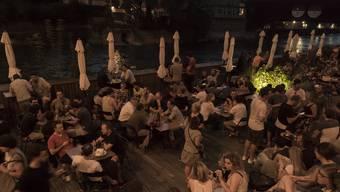 Der Frischluftbar Triebguet vermiesen am ehesten Sommergewitter das Geschäft.