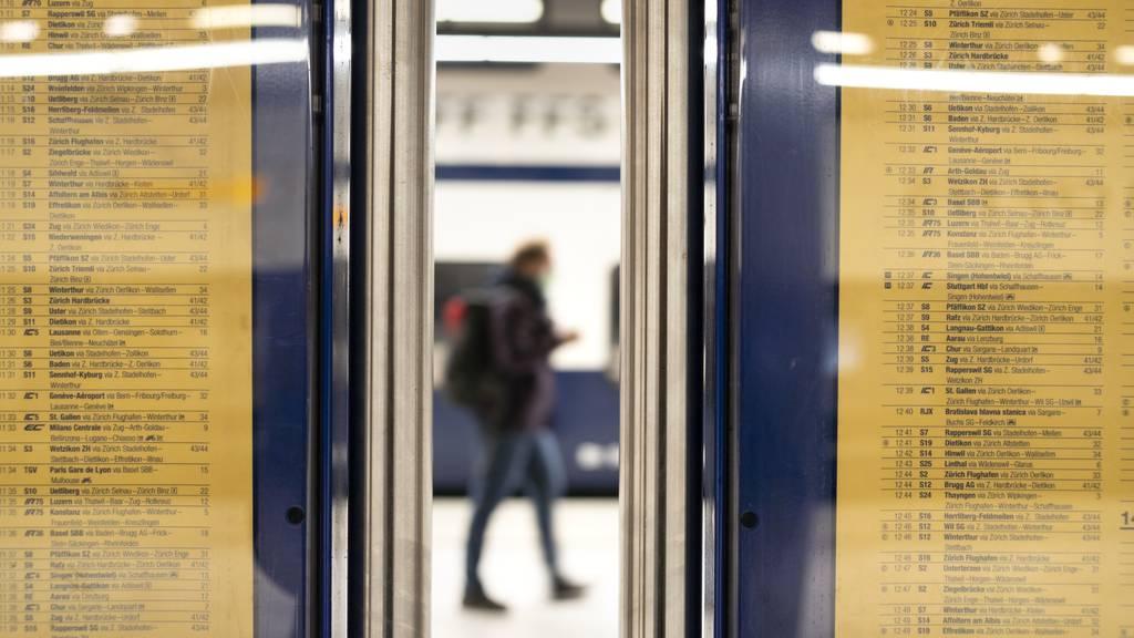 Anzeigetafeln an Bahnhöfen funktionieren zur Zeit nicht