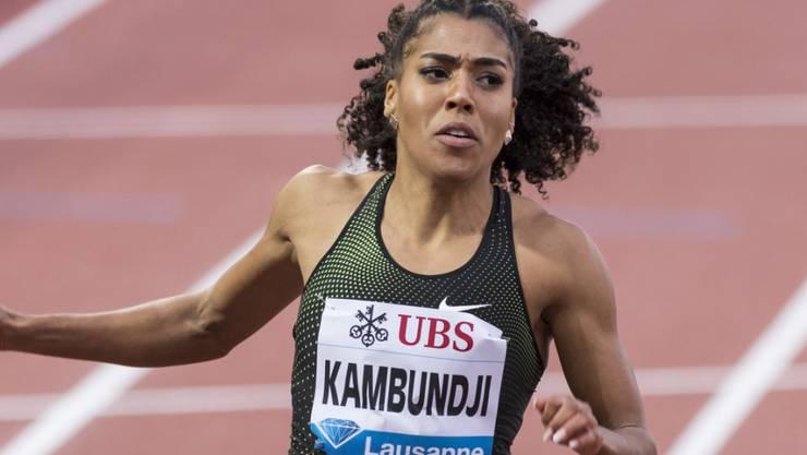 Mujinga Kambundji läuft in Lausanne über 100 m so schnell wie keine Schweizerin vor ihr