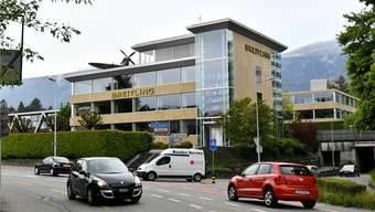 Breitling-Hauptsitz an der Léon-Breitling-Strasse Grenchen