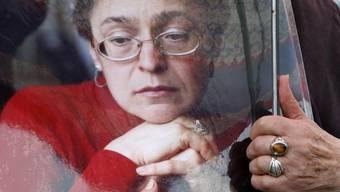 Porträt von Anna Politkowskaja (Archiv)
