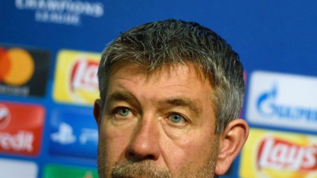 Für Urs Fischer und den FC Basel geht es in Sofia gegen Ludogorez Rasgrad um viel