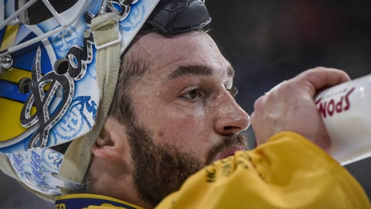 Bitter für den HCD und Goalie Sandro Aeschlimann: Viertelfinal-Out des Gastgebers am Spengler Cup