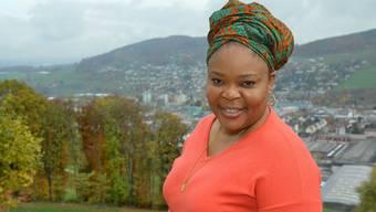 Leymah Gbowee kommt aus Liberia, wohnt in Ghana und ist jetzt zum ersten Mal zu Gast in der Region.