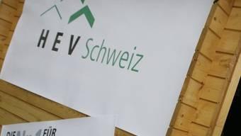 """Logo des Hauseigentümerverbands: Der Verband wirbt für seine Initiative """"Eigene vier Wände dank Bausparen"""""""