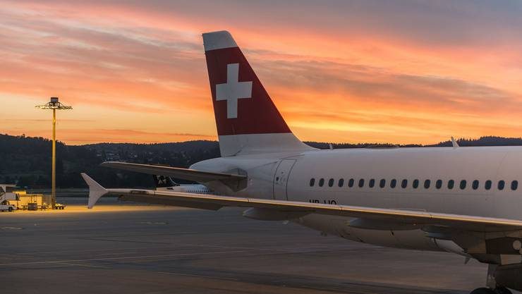 Beinahe keine Airline ist so unpünktlich wie die Swiss. (Archiv)
