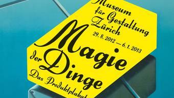 Das Museum für Gestaltung in Zürich widmet seine neueste Ausstellung dem Produktplakat (Bild: ZHdK)