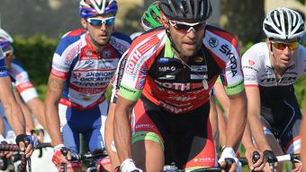 Andrea Pasqualon erreicht bei der Coppa Agostoni Platz sechs.