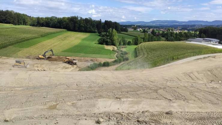 Im Kanton Aargau sollen vier neue Deponien entstehen – unter anderem für nichtverwertbares Aushub- und Ausbruchmaterial. (Symbolbild)