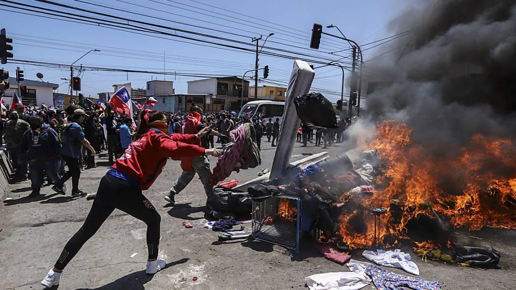 UN verurteilen rassistische Krawalle in Chile