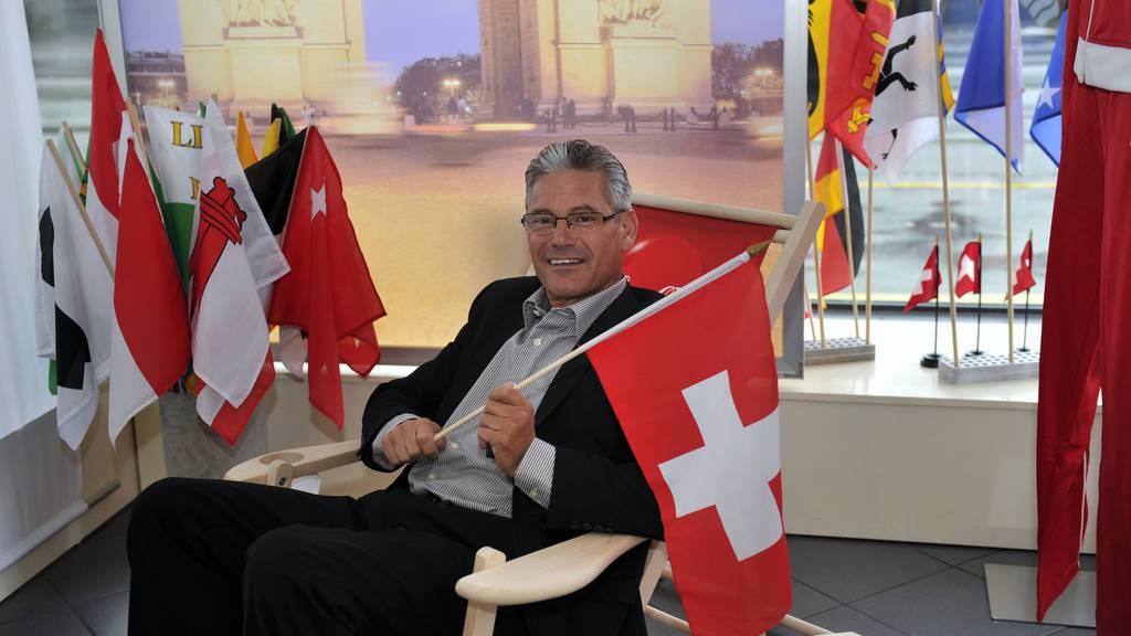 Wendelin Manser ist stolz, Partner der UEFA zu sein.