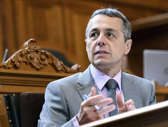 Ignazio Cassis wünscht sich zwei neue Koilleginnen im Bundesrat