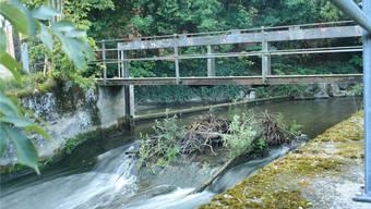 Altes Wasserkraftwerk in Schöftland bei der oberen Mühle.