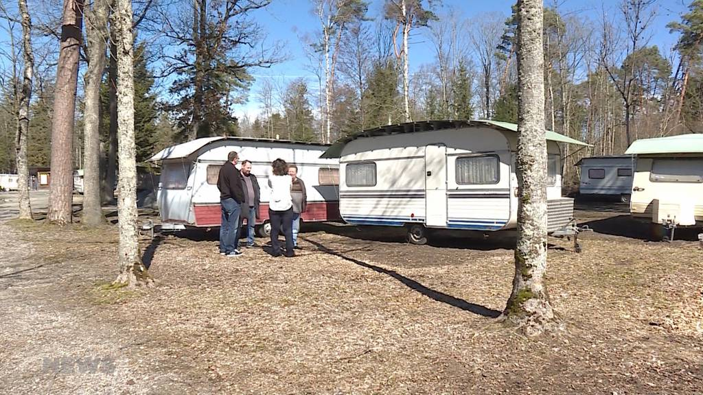 Verärgerte Camper wegen Transitplatz für Fahrende