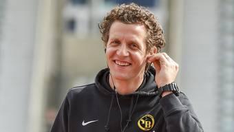 Marco Wölfli fühlt sich in seiner Rolle als Ersatzmann wohl.