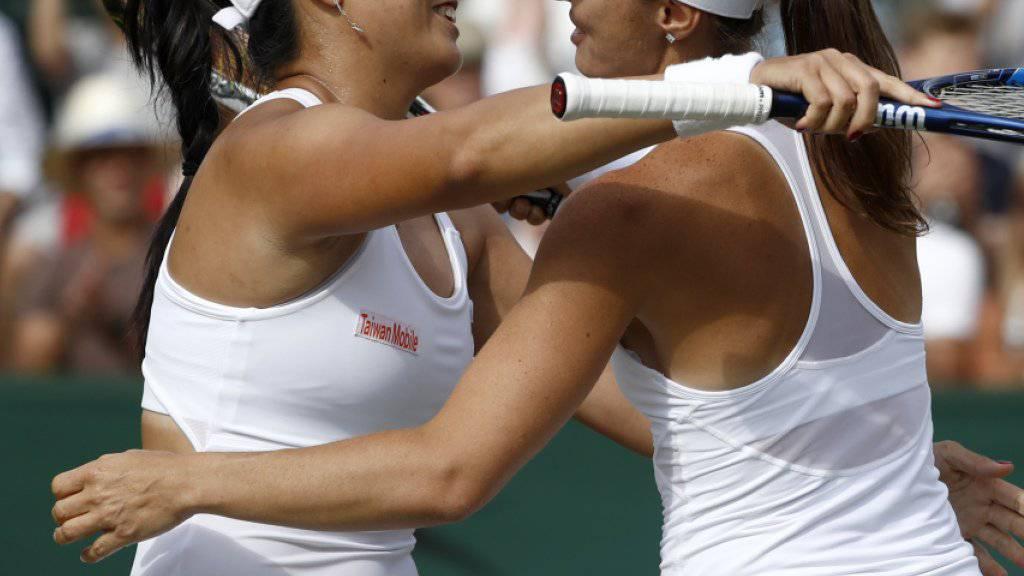 Chan Yung-Jan und Martina Hingis schaffen vorzeitig die Qualifikation für die WTA-Finals in Singapur