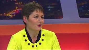 Drei Kandidatinnen liefern sich ein Kopf-an-Kopf-Rennen um den letzten Regierungsratssitz. Heute: Regierungsratskandidatin Franziska Roth, SVP.