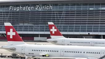 Ein Pilot eines Motorflugzeuges kam im Luftraum einem Swiss-Flieger gefährlich nahe. (Symbolbild)