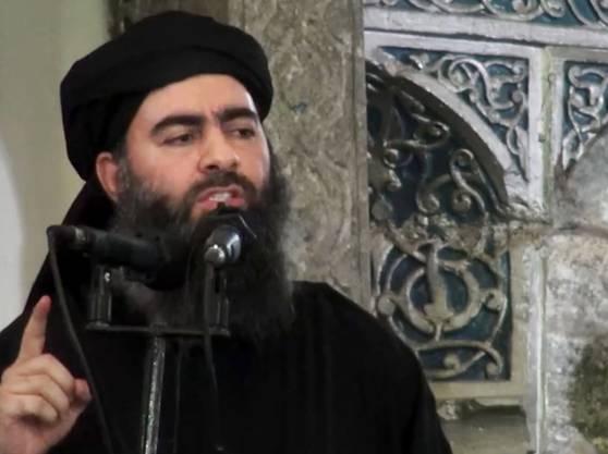 «IS»-Anführer Abu Bakr al-Baghdadi.