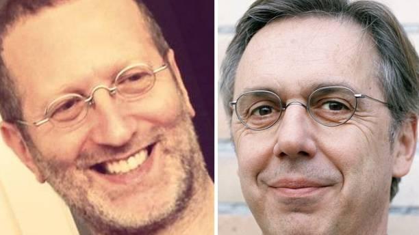 David Klein (links) verklagte Massimo Rocchi wegen Verletzung der Anti-Rassismus Strafnorm. Nun hat er selbst eine entsprechende Anklage am Hals.
